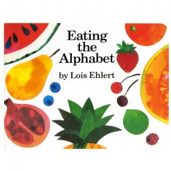 Eating the Alphabet Board Book