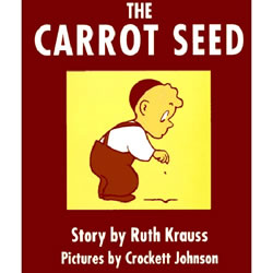 The Carrot Seed - Board Book