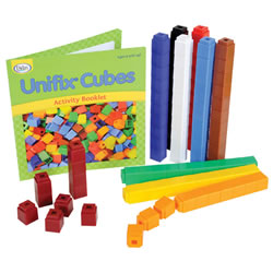Unifix® Cubes Math Manipulatives - 100 pieces