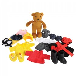 Weather Bear Set With Clothes for Each Season