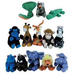 Jungle Finger Puppets - Set of 13