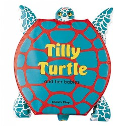 Tilly Turtle and Her Babies (Vinyl Book)