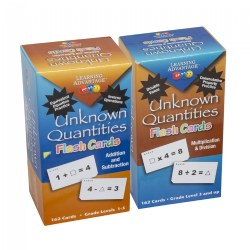 Unknown Quantities Flash Cards