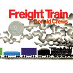 Freight Train - Board Book