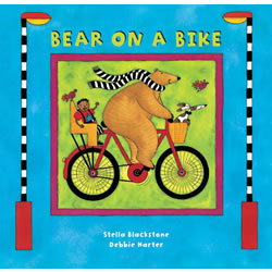 Bear on a Bike - Board Book