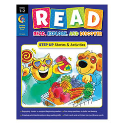 Grades 1 - 2. The innovative READ workbook series is expertly designed for beginning readers. Each READ grade level offers a Step In workbook with shorter stories and simpler sentences and a Step Up workbook with stories and sentences that are a bit longer. Both options are specifically written to support beginning readers as they read, explore, And discover early reading success!