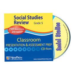 Social Studies Interactive Whiteboard Software - Grade 5