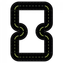 Formula One Pedal Path and Stripe Kit