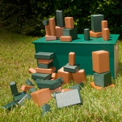 Block Box Blocks and Sorter - Set of 50