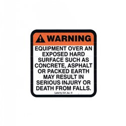 Surfacing Warning A Label