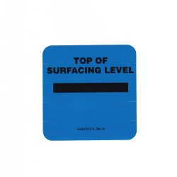 Surfacing Level Marker Label