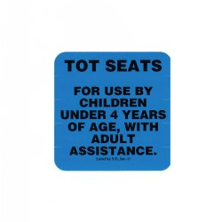 Tot Seats Label