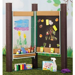 Chalkboard and Paint Panel - Portable
