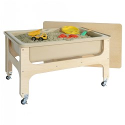 Deluxe Toddler Size Sand and Water Table with Lid