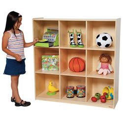 Big 9 Cubby Deep Storage