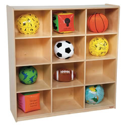 Big 12 Cubby Storage