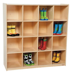 Big 16 Cubby Storage
