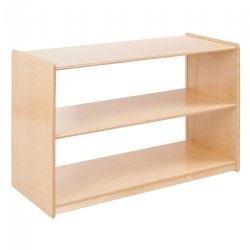 Carolina Shape-A-Space™ Two Shelf Storage Unit - Acrylic Back