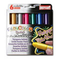 PlayColor® Pocket Tempera Paint Metallic Colors 6 Pack
