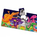 Alternate Image #1 of Long & Tall Puzzle Set - Big to Small Animals and Dancing Dinos