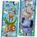Alternate Image #2 of Long & Tall Puzzle Set - Big to Small Animals and Dancing Dinos