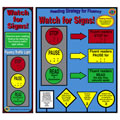 Watch for Signs (Fluency) Poster & 30 Bookmarks