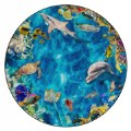 Main Image of Photo-Fun Into The Sea Round Rug