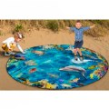 Alternate Image #3 of Photo-Fun Into The Sea Round Rug