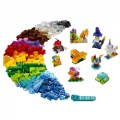 Alternate Thumbnail Image #1 of LEGO® Classic Creative Transparent Bricks - Mixed with Solid Bricks - 11013
