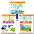 Main Image of Coding With Scratch Workbook Set (Set of 3) - Paperback