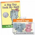 Thumbnail of Mo Willems Elephant & Piggie Soft Puppets & Hardcover Book Set