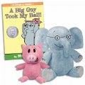 Thumbnail of Elephant & Piggie Plush Toy Set & A Big Guy Took My Ball Hardcover Book Set