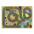 Alt Thumbnail #1 of Jumbo Roadway Activity Rug & Wooden Traffic Signs