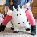 Alternate Thumbnail Image #2 of Farm Hoppers® Inflatable Bouncing White Cow