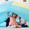 Alt Thumbnail #2 of AirFort - Beach Ball Blue Play Tent