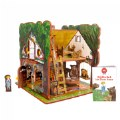 Goldilocks and the Three Bears 3D Puzzle - Book and Toy Set - Playful Details