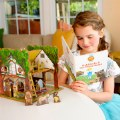 Alternate Thumbnail Image #4 of Goldilocks and the Three Bears 3D Puzzle - Book and Toy Set - Playful Details