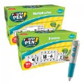 Thumbnail of Power Pen Learning Math Quiz Cards - Multiplication, Division & Hot Dots® Silver Talking Pen