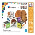 Alternate Thumbnail Image #3 of MAGNA-TILES® - Eric Carle Brown Bear, What Do You See? Building Set