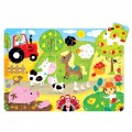 Suuuper Size Puzzle On the Farm - Large Jigsaw Floor Puzzle for Kids Ages 2+ - 35 Pieces