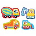 Thumbnail of Hands at Play Construction Vehicles - 4 Large Uniquely Shaped Puzzles