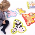Alt Thumbnail #2 of Hands at Play Farm Animals - 4 Large Uniquely Shaped Animal Puzzles