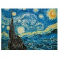 "Alternate Thumbnail Image #1 of Van Gogh ""Starry Night"" 500 Piece Puzzle - Museum Collection"