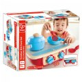 Alternate Thumbnail Image #2 of Portable Toddler Kitchen Set - Wooden 6 Pc Cooking Set