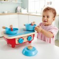 Alternate Thumbnail Image #3 of Portable Toddler Kitchen Set - Wooden 6 Pc Cooking Set