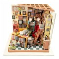 Alternate Thumbnail Image #1 of DIY 3D Wooden Puzzles - Miniature House: Sam's Study