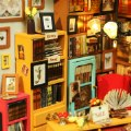 Alternate Thumbnail Image #4 of DIY 3D Wooden Puzzles - Miniature House: Sam's Study