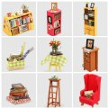 Alternate Thumbnail Image #6 of DIY 3D Wooden Puzzles - Miniature House: Sam's Study
