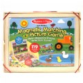 Alternate Thumbnail Image #4 of Wooden Magnetic Matching Picture Game