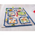 "Alternate Thumbnail Image #2 of IVI Traffic 3D Play Rug - Blue 31.5"" x 44.5"""